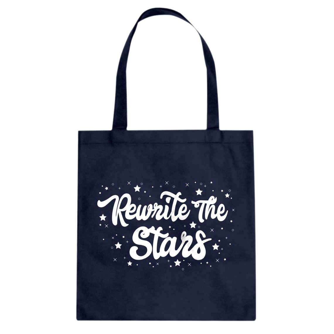 Tote Rewrite the Stars Large Navy Blue Canvas Bag Indica Plateau 3203-B-NB-L