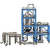ピーエムオフィスエー 工業地帯シリーズ D 精製炉 全高約140mm ノンスケール プラモデル PP082
