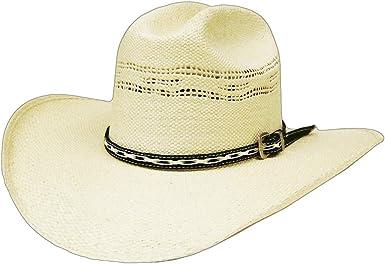 Modestone Straw Sombrero Vaquero Leather-Like Hatband Sizes For Small Heads
