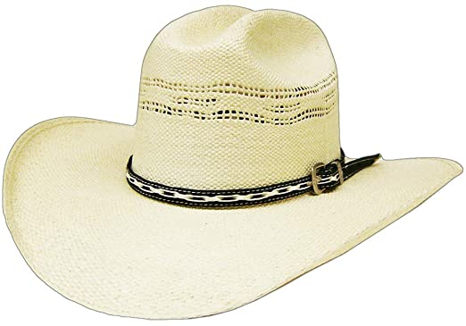 c513cb277c1 Image Unavailable. Image not available for. Color  Modestone Bangora Straw  Cowboy Hat ...