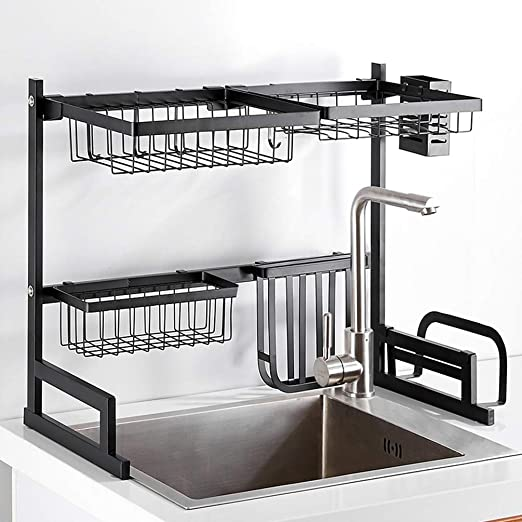 Escurridor cocina estante de acero inoxidable Estante Para ...