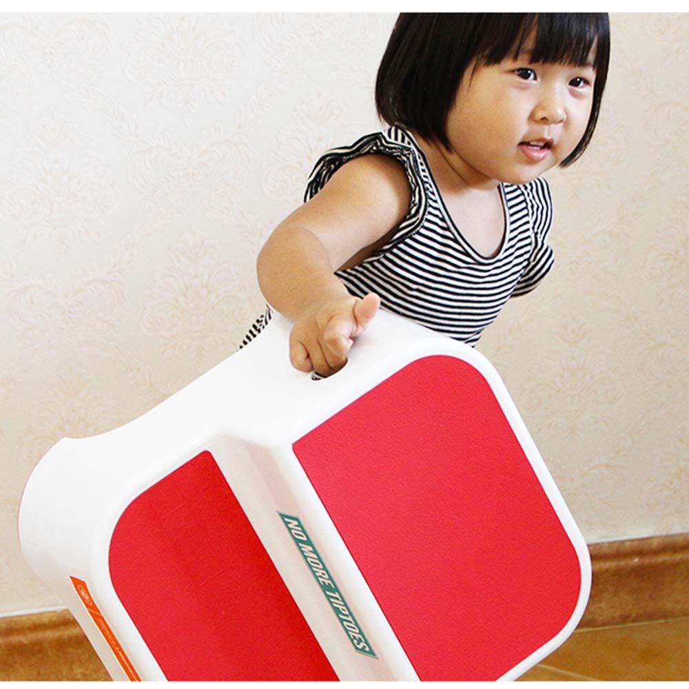Amazon.com: Silla de escalera, taburete de plástico para el ...