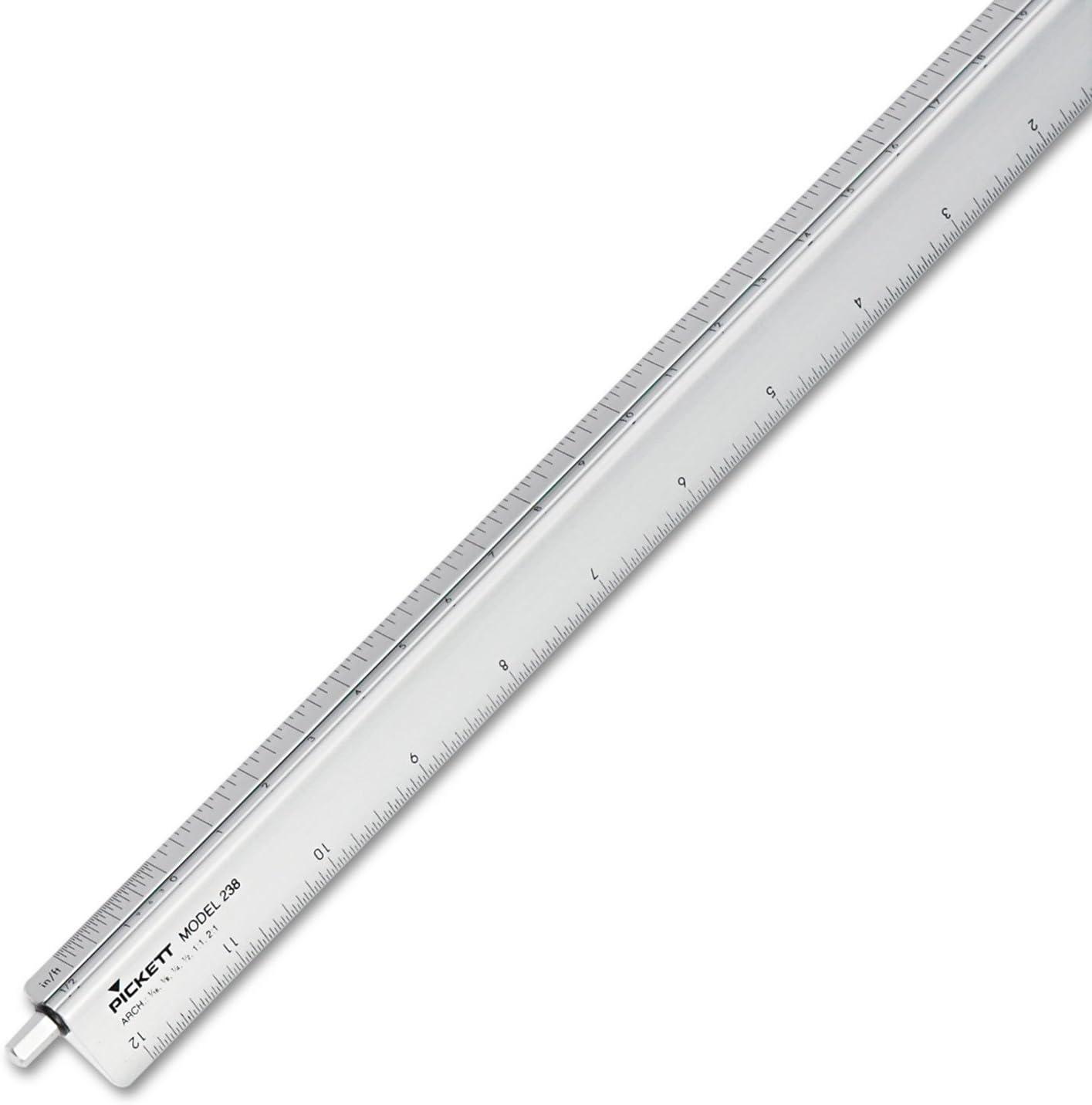 CHA238 Adjustable Triangular Scale Aluminum Architects Ruler