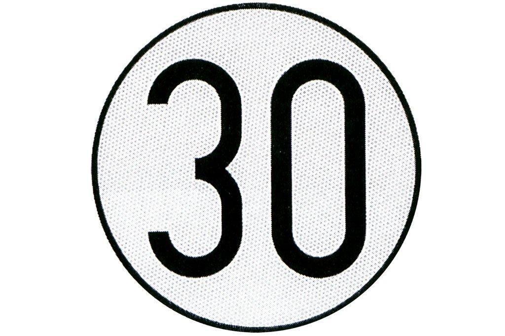 Cofan 199004 Placa de Velocidad Homologada 30