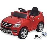 vidaXL Voiture électrique 6 V avec télécommande Mercedes Benz ML350 rouge