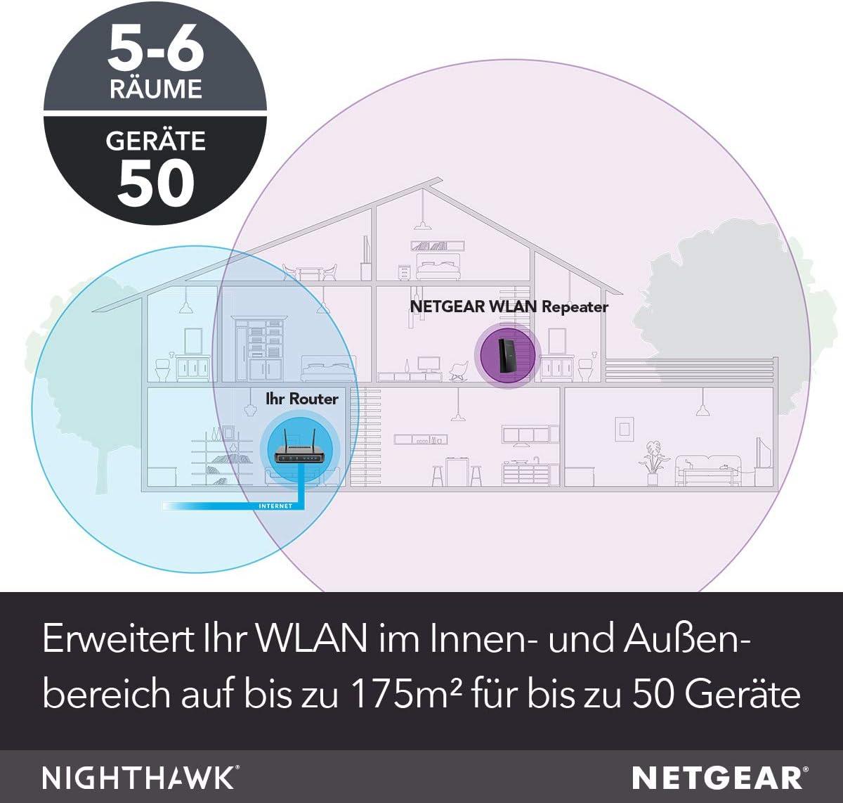Netgear Wlan Mesh Repeater Ex8000 Wlan Verstärker Computer Zubehör