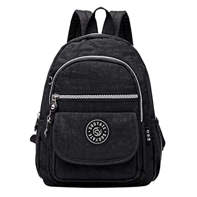 Lightweight Backpack for School - Women Men Fashion Large Capacity Backpack Nylon Waterproof Travel Bags Schoolbag: Toys & Games