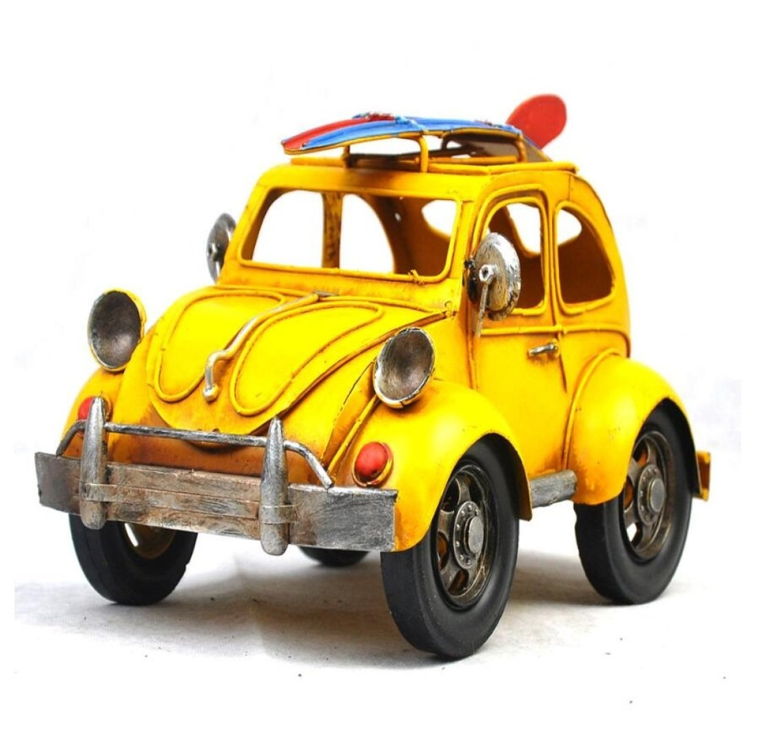 GL&G Retro Iron art car model Home decoration Crafts festival gift Photography props bar Storefront Window display Tabletop Scenes Ornaments Collectible Vehicles,241717cm