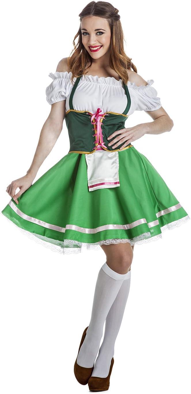 Disfraz de Tirolesa Talla XL: Amazon.es: Juguetes y juegos