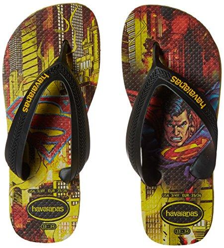 Pictures of Havaianas Kids Flip Flop Sandals, Max Heroes, Superman ,(Toddler/Little Kid) 4