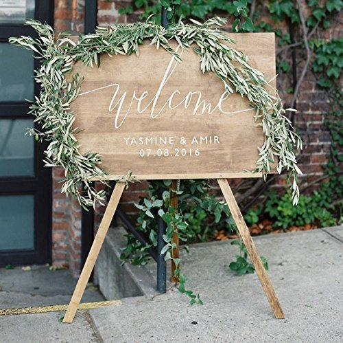 Amazon wood wedding welcome sign welcome wedding sign wood wedding welcome sign welcome wedding sign wooden welcome sign wedding welcome sign junglespirit Choice Image