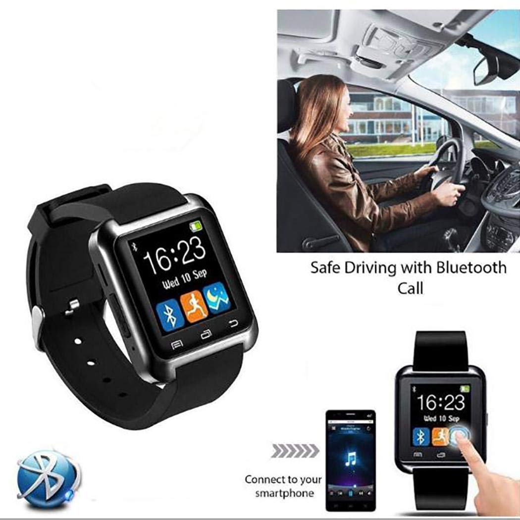 Miuniu Multifunction Bluetooth Sports Smart Watch Heart Rate Monitor Fitness Tracker Smart Watches