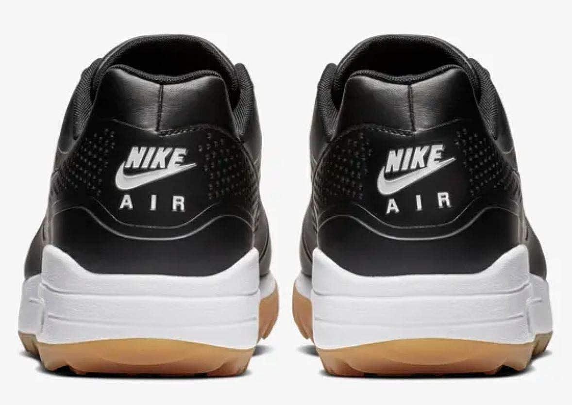 info for e6a92 17829 Amazon.com   Nike Golf Men s Air Max 1G Black Black Gum Light Brown 11 D US    Golf