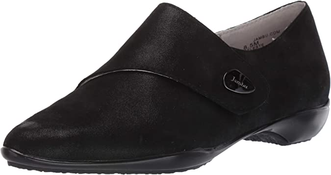 JBU by Jambu Women/'s Gail Leather Slip-On Monk-Strap Loafer
