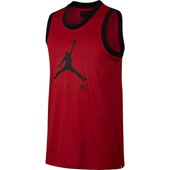 f85b4077b9a48f Jordan Sportswear Jumpman Mesh Rev Tank Top Men Maroon XS (X-Small)   Amazon.co.uk  Clothing