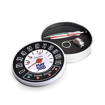 Fiat 500 figb01 Bolígrafo y llavero: Amazon.es: Oficina y ...