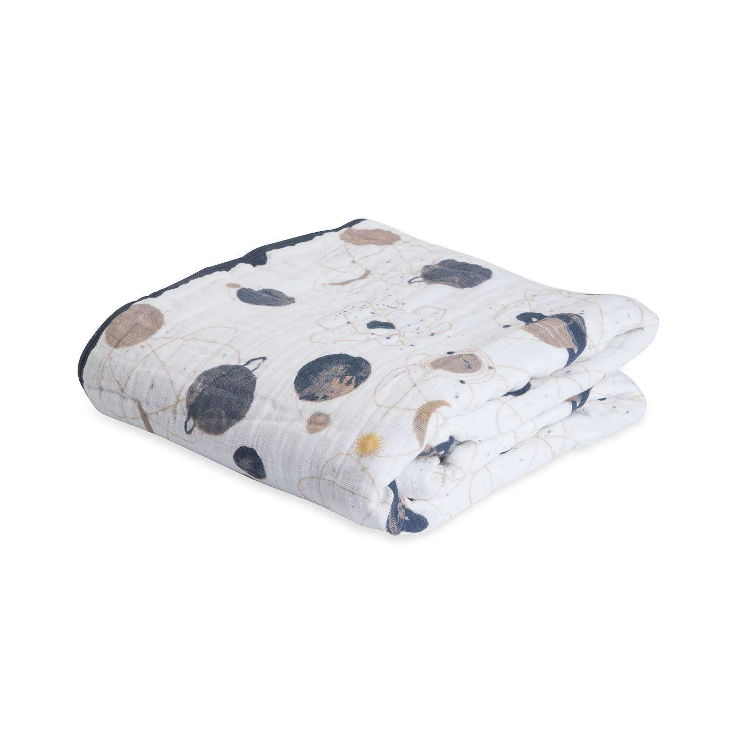 Little Unicorn Cotton Muslin Blanket Quilt- Planetary