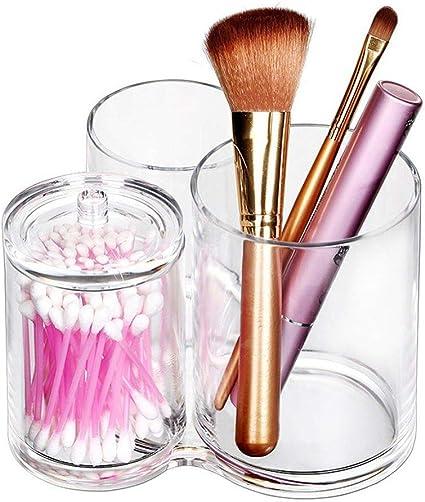 Transparente Cilindro Kosmetex Caja Maquillaje Organizador de ...