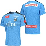 JPA-Boom ワールド サッカーレプリカユニフォーム 半袖 川崎フロンターレ 2019 ブルー メンズ レディース 上着 印刷不可 オリジナル