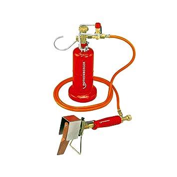 Rothenberger suave de soldadura de relleno no 300 Set A con regulador de gas propano: Amazon.es: Bricolaje y herramientas