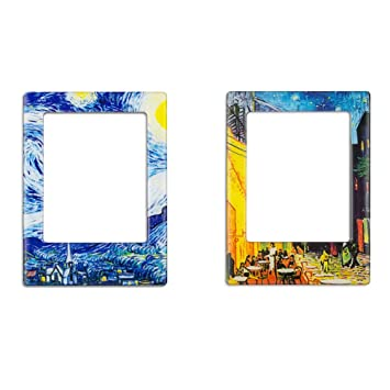 Amazoncom 2 Pack Magnetic Picture Frames For Refrigerator Fridge