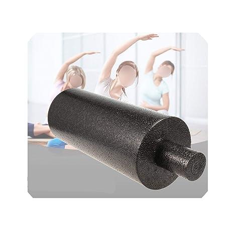 Amazon.com : 2Pcs 2In1 33X 14Cm Foam Yoga Roll High Fitness ...