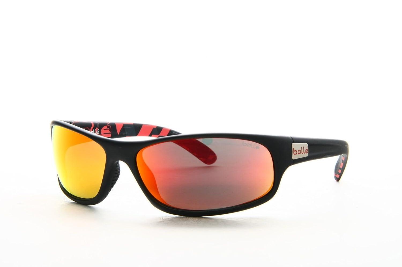 Bollé Anaconda, Gafas de sol, Multicolor (Matte Black/Rosso ...