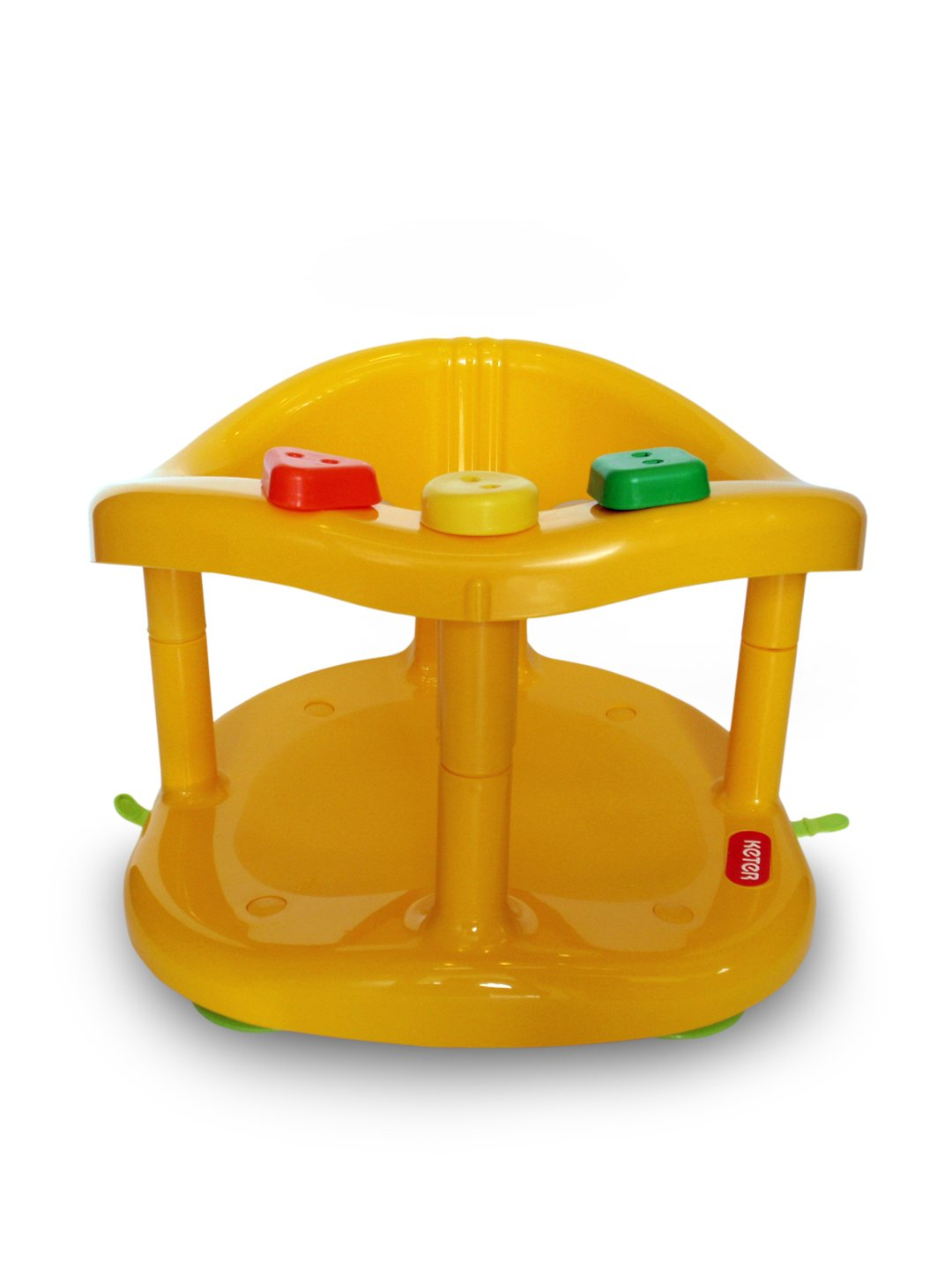 Buy Baby Bath Tub Ring Seat New in Box By KETER - Yellow Online at ...