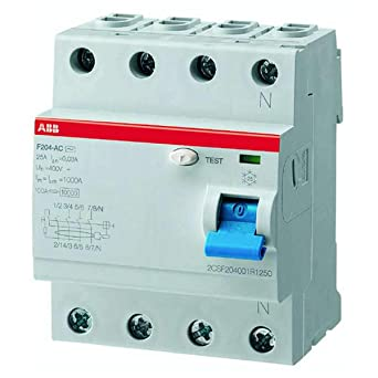 ABB F204 A 63A 30MA INTERR.DIFFERENZ. PURO 4P ab5b2d438b1