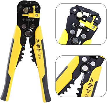 3 IN 1 Outstanding Automatic Cable Wire Crimper Crimping Cutter Stripper Tool US