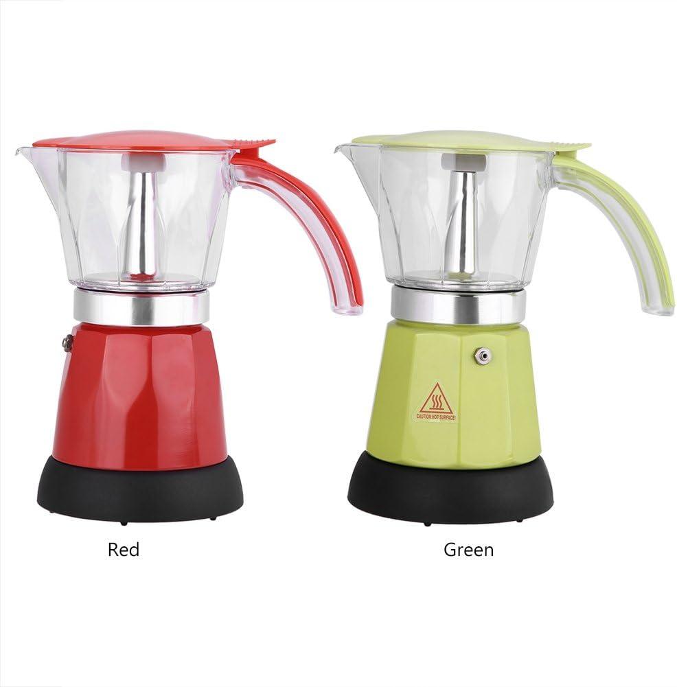 Cafetera eléctrica - BiuZi 300ml/6 tazas 220-240V 50Hz 480W Olla ...