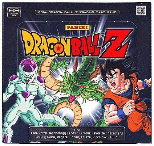Cards Z Dragon Trading Ball Dragon (Dragon Ball Z Panini Trading Card Game STARTER BOX [10 Decks])