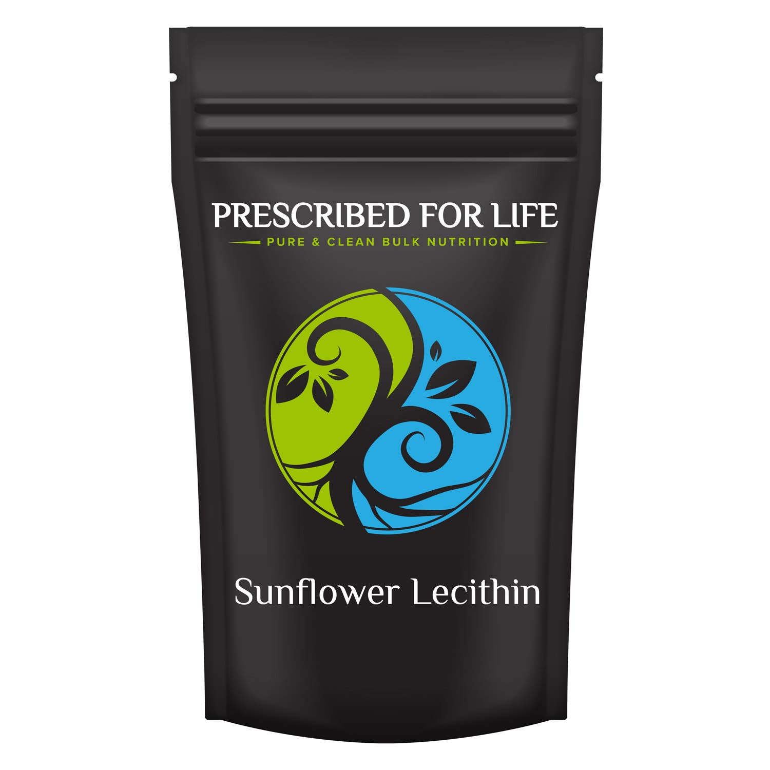 Prescribed for Life Sunflower Lecithin Powder (4 oz / 113 g) | Natural, Unbleached, Gluten Free, Vegan, Non-GMO, Soy Free, Kosher, No Fillers | Naturally Rich in Choline & Essential Fatty Acids