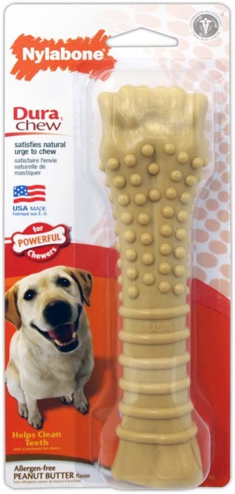 Pet Supplies : Nylabone Power Chew Flavored Durable Chew Toy for Dogs Peanut Butter Flavor X-Large/Souper - 50+ Lbs. :
