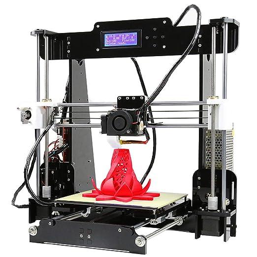 ZJRA Impresora 3D, Impresora 3D Niveladora Automática Asistida ...