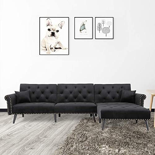 Knowlife Sectional Convertible Fution Sofa Bed Review