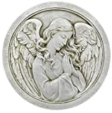 Roman 10.5″ Praying Angel Decorative Garden Stone