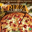 Amy\'s Three Cheese Pizza with Corn Crust, Organic, 14.5-Ounce Boxes (Pack of 8)