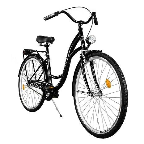 """2018 Cómoda Bicicleta de ciudad, Bicicleta, 1 Velocidades, Rueda de 26"""""""