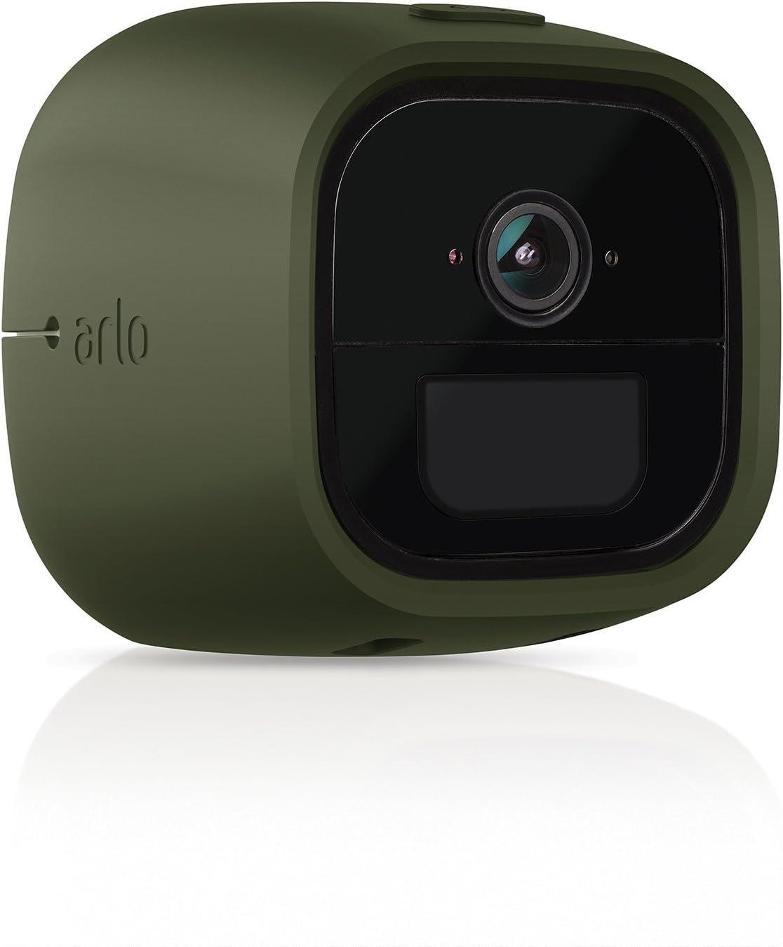 schwarz//camouflage Arlo Go LTE Silikonbez/üge offiziell, 2er Set VMA4270