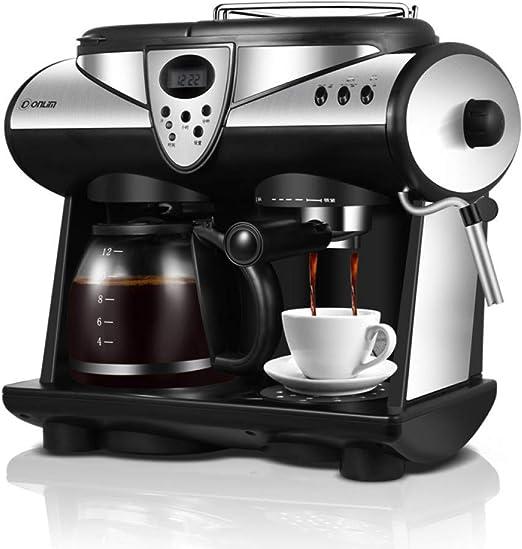 KOUDAG Cafetera Máquina de café Espresso de 2 sabores Bombas ...
