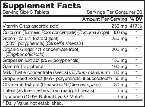 Jarrow Formulas Antioxidant Optimizer Supports Vision Cardiovascular Health 90 Tabs Discount