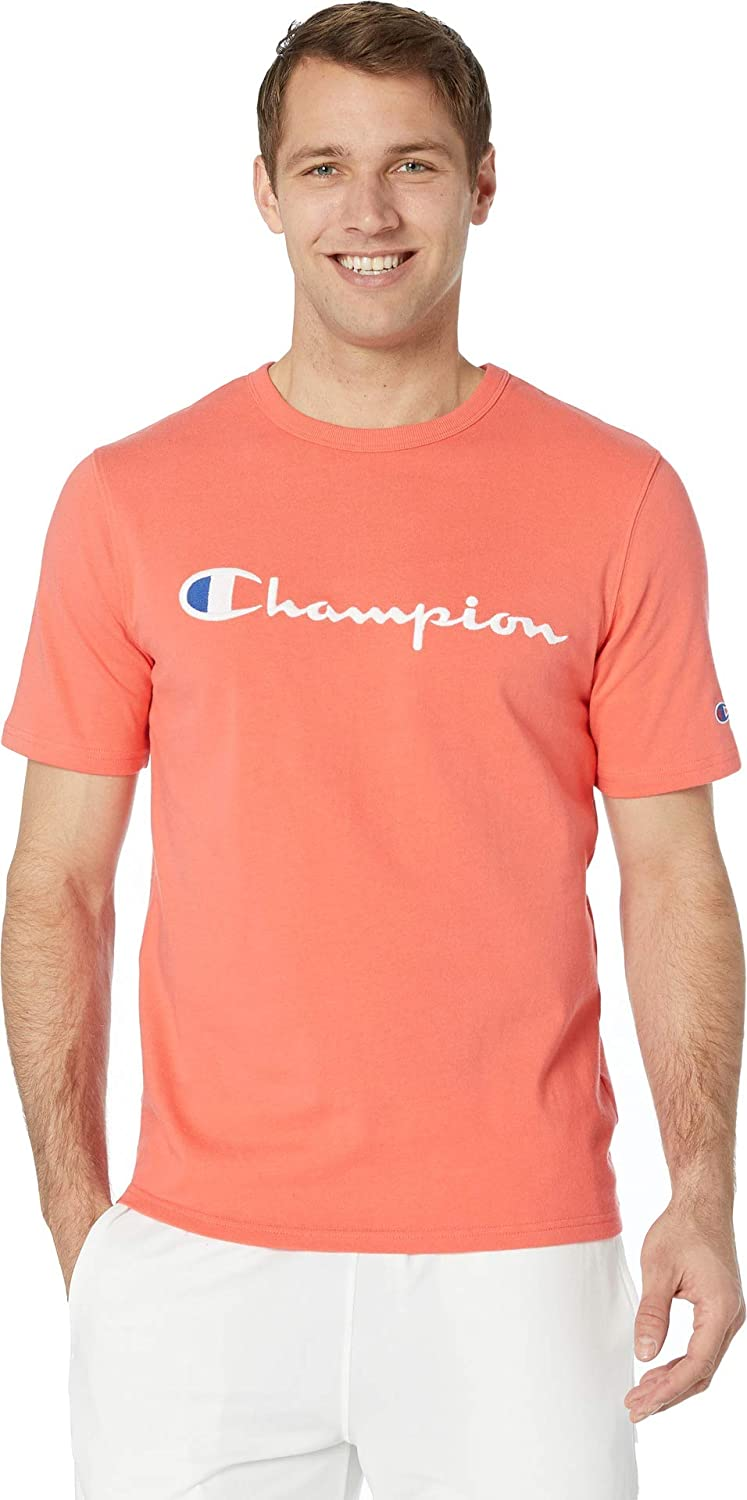 97308bb57 Amazon.com: Champion LIFE Men's Heritage Tee: Clothing