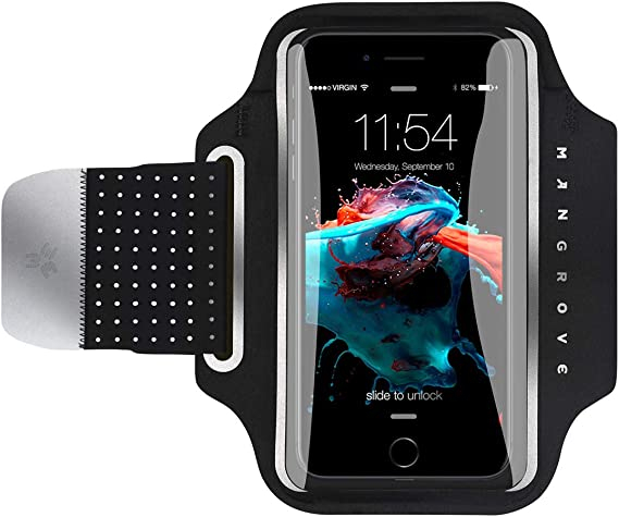 Armband for Phone Running Armband,Universal Cell Phone Arm Holder Case for iPhone X XR XS MAX 8 7 6 Plus SE//Samsung Galaxy S7 S8//LG//Android//Key,Waterproof Phone Pouch Arm Band Fit Runner//Excersize//GYM