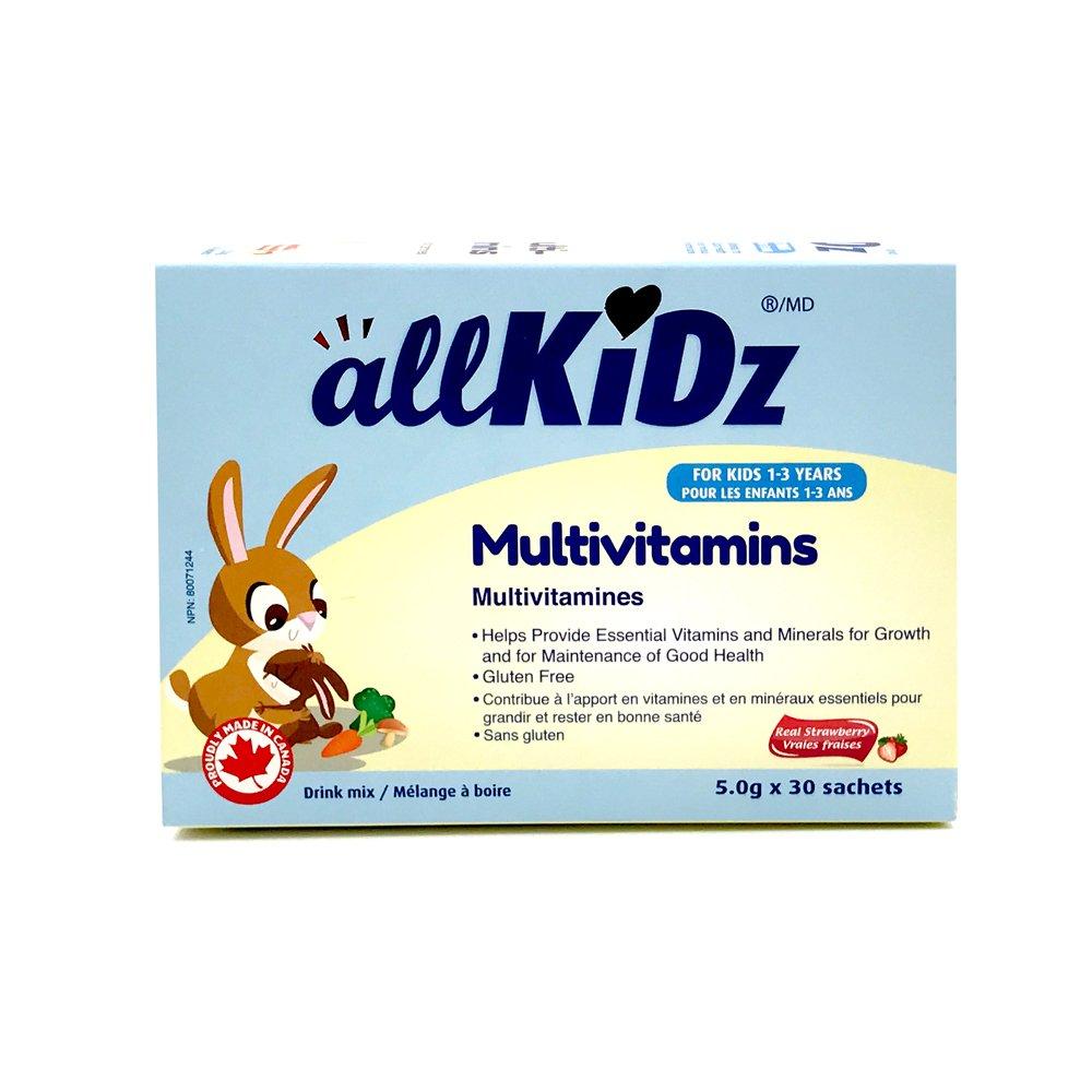 allKiDz® Multivitamins (Drink mix) sachet for kids children (30)