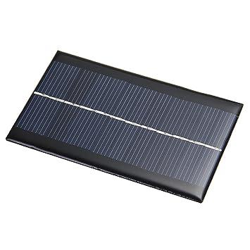 6v Solarpanel Solarmodul Solarzelle 1w 166ma Zur Aufladung Amazon