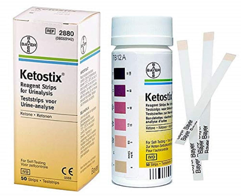 Ketostix Reagent Strips, Ketostix Reagent Strips, (1 BOX, 50 EACH)