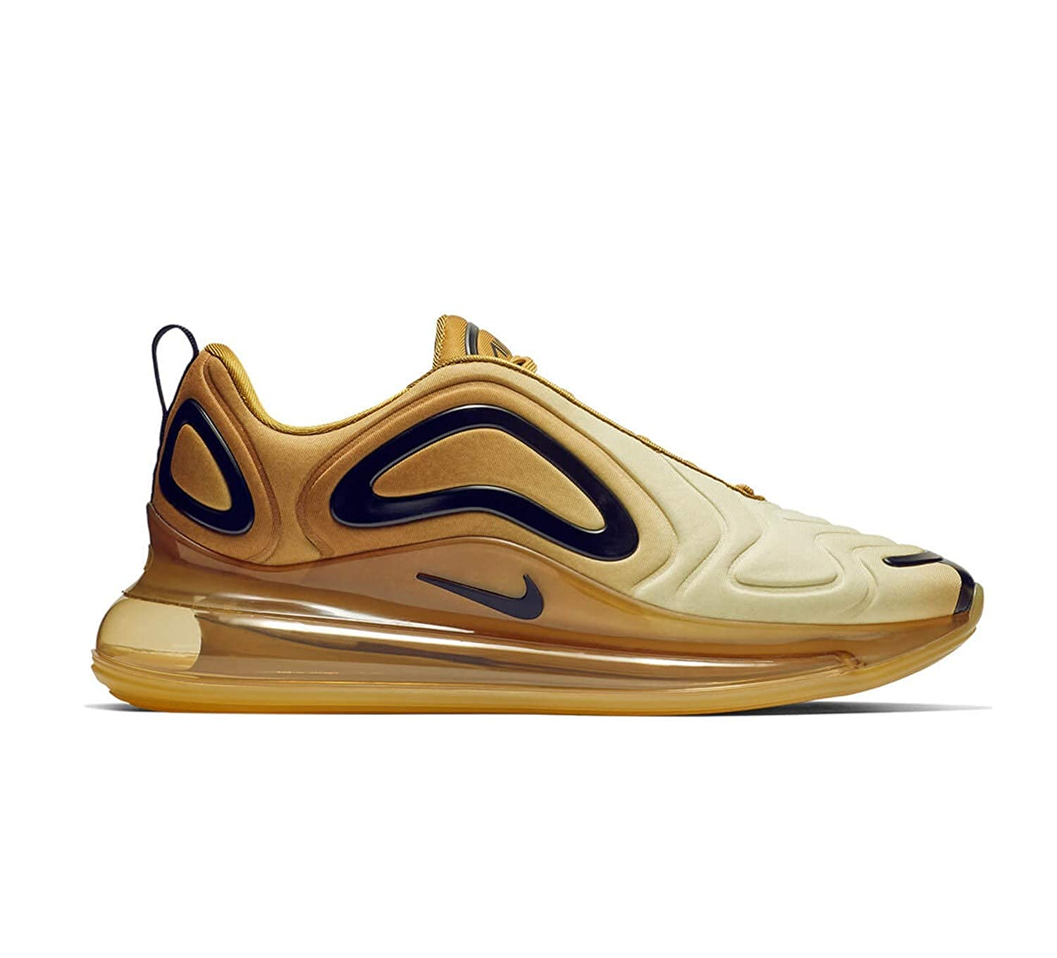 newest 5c330 bdb82 Nike Air Max 720 Mens Mens Ao2924-700 Gold Size  8 UK  Amazon.co.uk  Shoes    Bags
