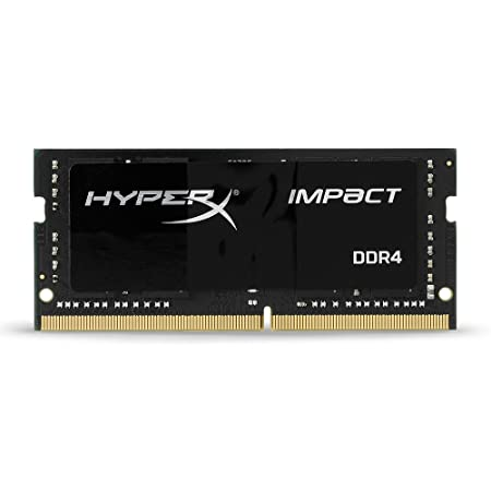 Kingston Technology HyperX Impact 8GB 2400MHz DDR4 CL14 SODIMM Laptop Memory HX424S14IB 8 Memory at amazon