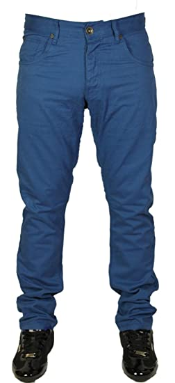 BNWT NEW MENS ENZO SKINNY SLIM FIT CHINOS STYLE 4 COLOURS 28 TO 44 SALE  PRICE d68ddfd281